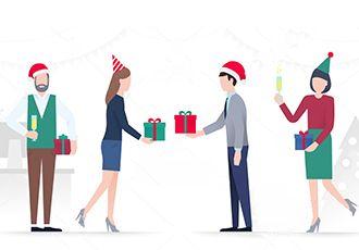 Подарки на Новый год корпоративным клиентам