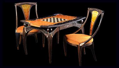 Гарнитуры и столы для игры
