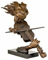 Скульптуры, статуэтки из бронзы