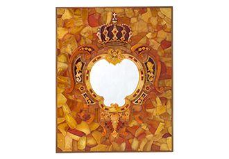 Художественный шедевр из знаменитой Янтарной комнаты