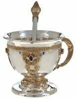"""Кофейная чашка из серебра """"Царская"""""""
