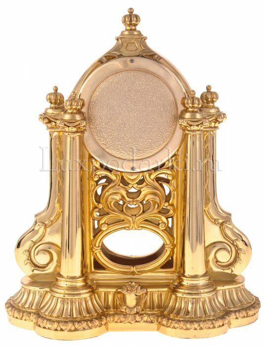 Каминные часы с маятником, цвет: золотой Linea Argenti- 2