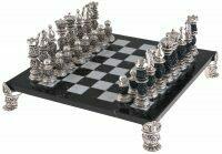 Шахматный набор с чернением Linea Argenti