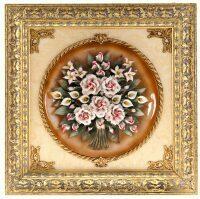 """Панно  Arte Casa """"Букет роз""""  (керамика)"""