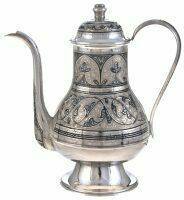 """Чайник из серебра """"Восточный"""""""