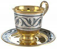 """Чайная чашка """"Золотая осень"""""""