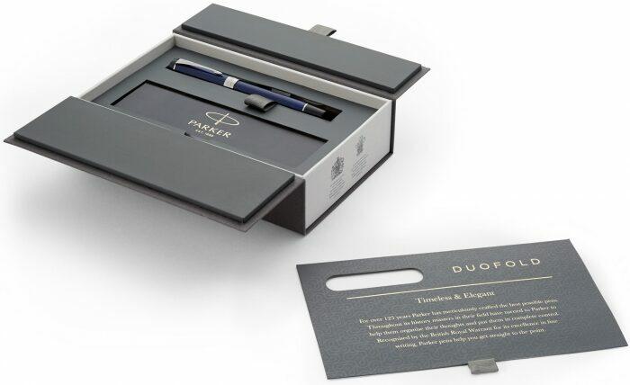 "Ручка-роллер  Parker ""Duofold""  Blue/Black CT F- 3"