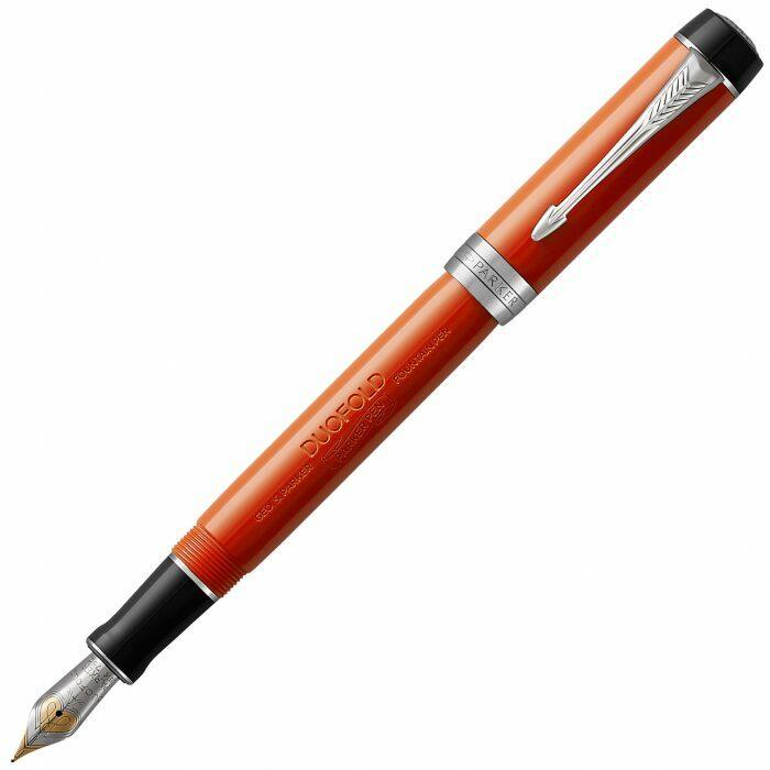 "Ручка перьевая  Parker ""Duofold""  International Classic Big Red CT F- 0"