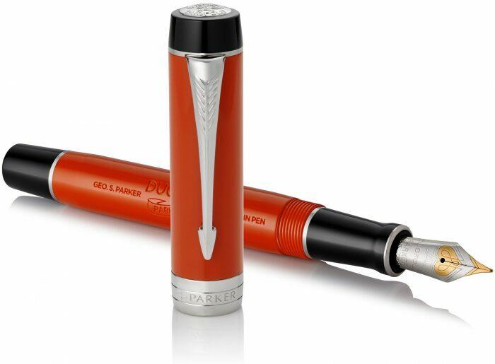 "Ручка перьевая  Parker ""Duofold""  International Classic Big Red CT F- 1"