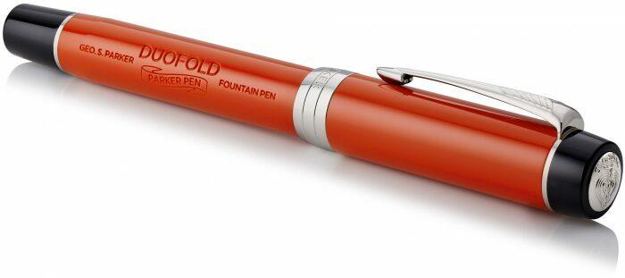 "Ручка перьевая  Parker ""Duofold""  International Classic Big Red CT F- 2"