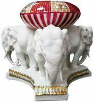 "Статуэтка-пепельница Elite & Fabris ""Три слона"""