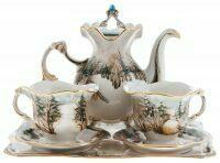 """Чайный набор """"Зимняя тишина"""" на 2 персоны"""