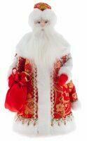 "Кукла ""Дед Мороз в красном"" конфетница"