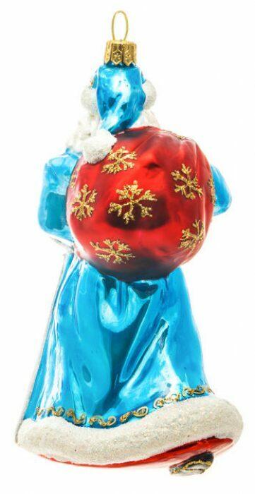 """Ёлочная игрушка """"Дед Мороз в синем тулупе""""- 2"""