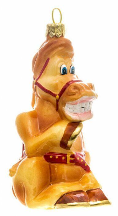 """Ёлочная игрушка """"Конь Юлий""""- 3"""