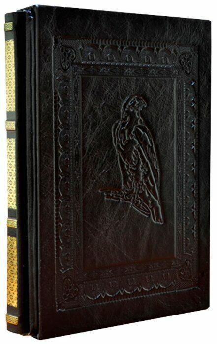 """Книга в кожаном переплете """"Охота"""" (в футляре)- 2"""