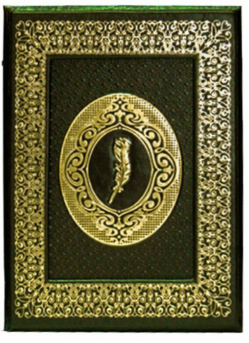 """Книга в кожаном переплете """"1001 ночь Волшебные сказки о любви"""" (в футляре)- 1"""