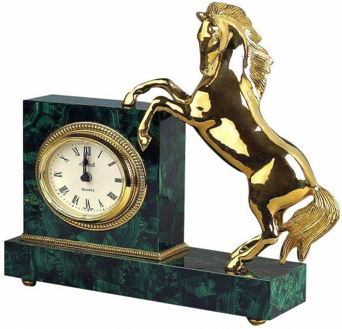 """Каминные часы """"Конь""""- 0"""