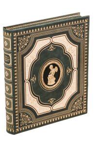 """Подарочная книга в кожаном переплете """"Эрмитаж"""" (на английском языке)"""