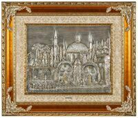 """Барельеф  T.I.A. Quadri """"Великая мечеть"""""""