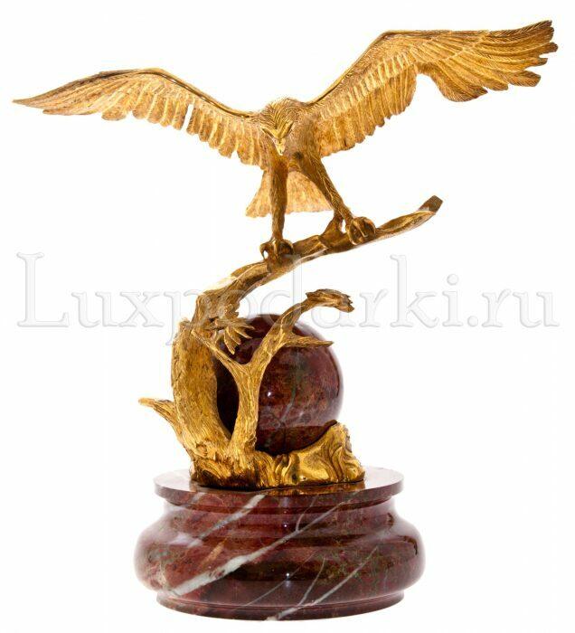 """Скульптура """"Орел на ветке""""- 0"""