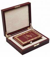 """Книга в кожаном переплете """"Книга мудрости Правителя государства"""""""