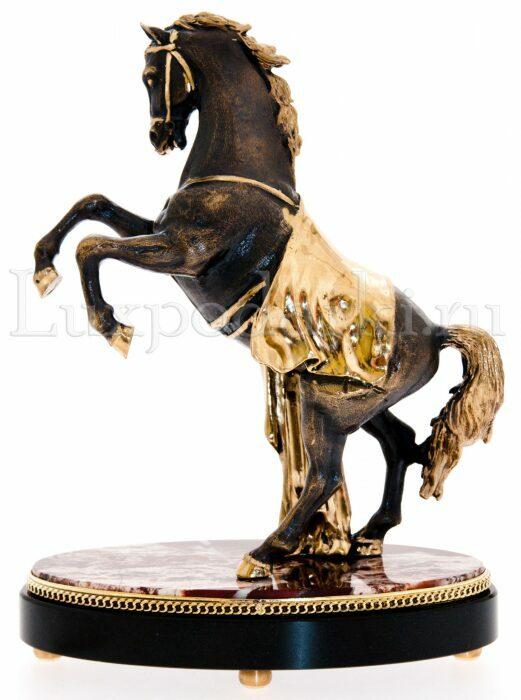 """Статуэтка бронзовая """"Лошадь"""" на подставке- 3"""