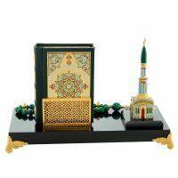Композиция настольная с Кораном и четками (Златоуст)