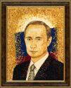 Персональный портрет из янтаря- 5