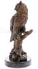 """Скульптура из бронзы """"Сова""""- 2"""
