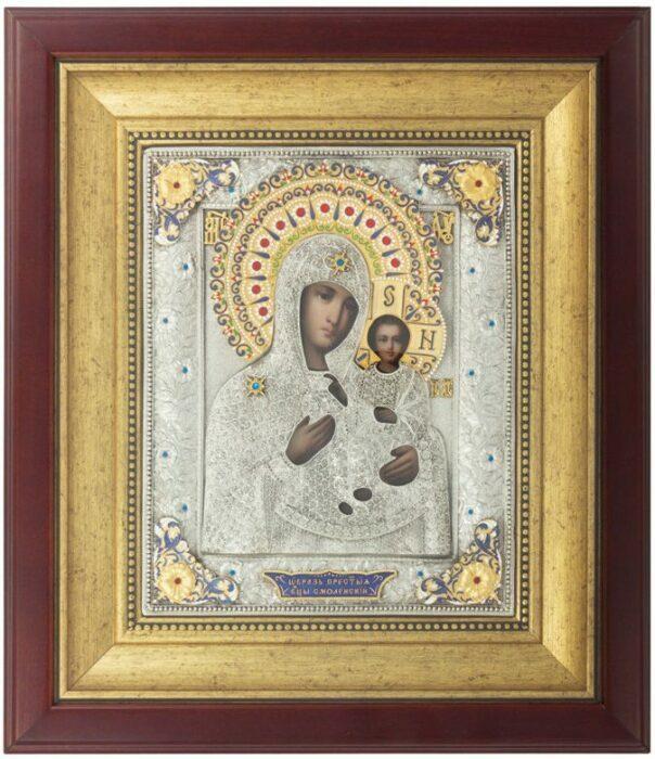 Смоленская икона Пресвятой Богородицы- 0