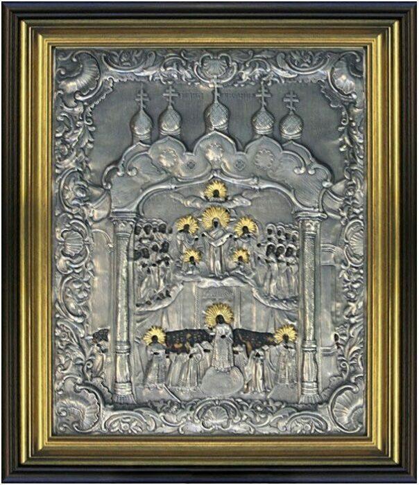 Икона Покров Пресвятой Богородицы- 0