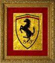 Логотип Вашей компании на сусальном золоте