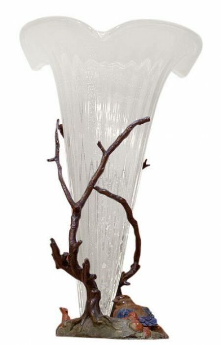 "Ваза для цветов  Venturi Arte ""Птички между ежевики"" - 0"