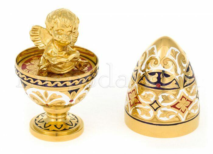 """Яйцо пасхальное """"Ангел"""" - 2"""