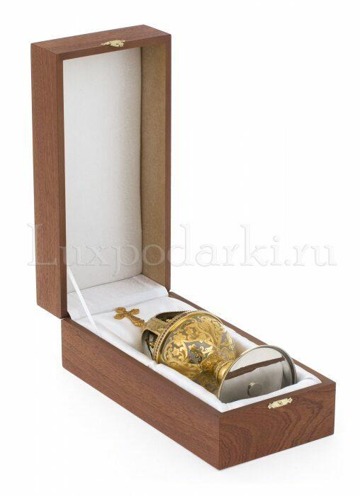 """Яйцо пасхальное """"Церковь"""" (Златоуст)- 3"""