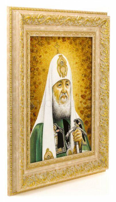 """Картина из янтаря """"Портрет патриарха""""- 1"""