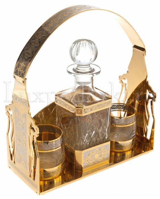 """Набор под виски """"Златоуст""""- 0"""