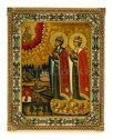 """Икона """"Святые благоверные князья Борис и Глеб""""- 0"""