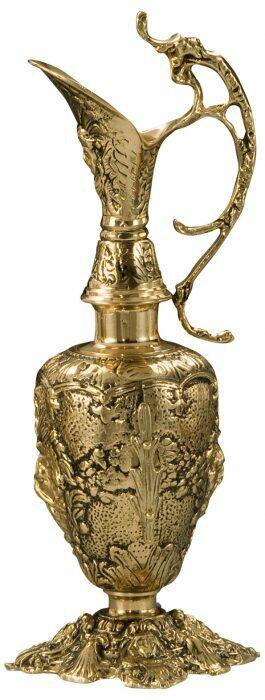 """Ваза из бронзы  Virtus """"Vase Hand Crafted Base Nº 1"""" - 0"""