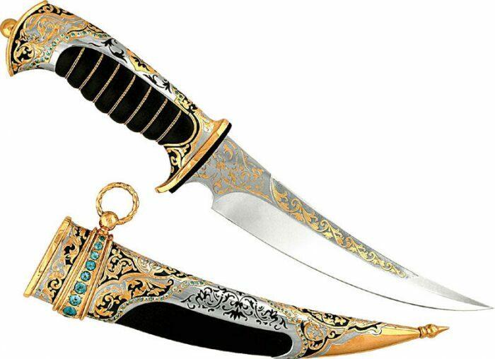 Нож Султан Брунея (Златоуст)- 0