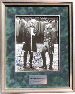 Фотография с 2-мя автографами Дмитрия Хворостовского и Сэмюэля Реми