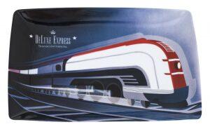 """Тарелка плоская из фарфора  Vista Alegre """"Поезд"""""""