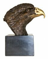 "Скульптура бронзовая ""Голова орла"" (средняя)"