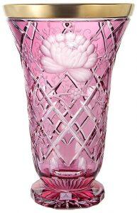 """Ваза для цветов  Arnstadt Crystal """"Арнштадт Роза"""""""