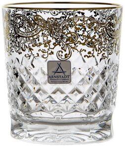 """Набор бокалов для виски  Arnstadt Crystal """"Арабески"""""""