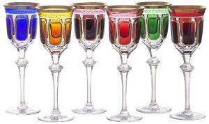 "Набор бокалов для вина  Arnstadt Crystal ""Антик-Колорс"""