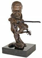 """Скульптура бронзовая """"Скрипач"""""""