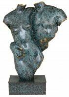 "Скульптура бронзовая ""Два торса"""