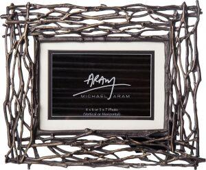 "Рамка для фото  Michael Aram ""Ветви""  (10x15 см) коричневая"